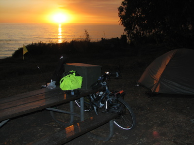 kirk-creek-campground california pacific coast bicycle tour