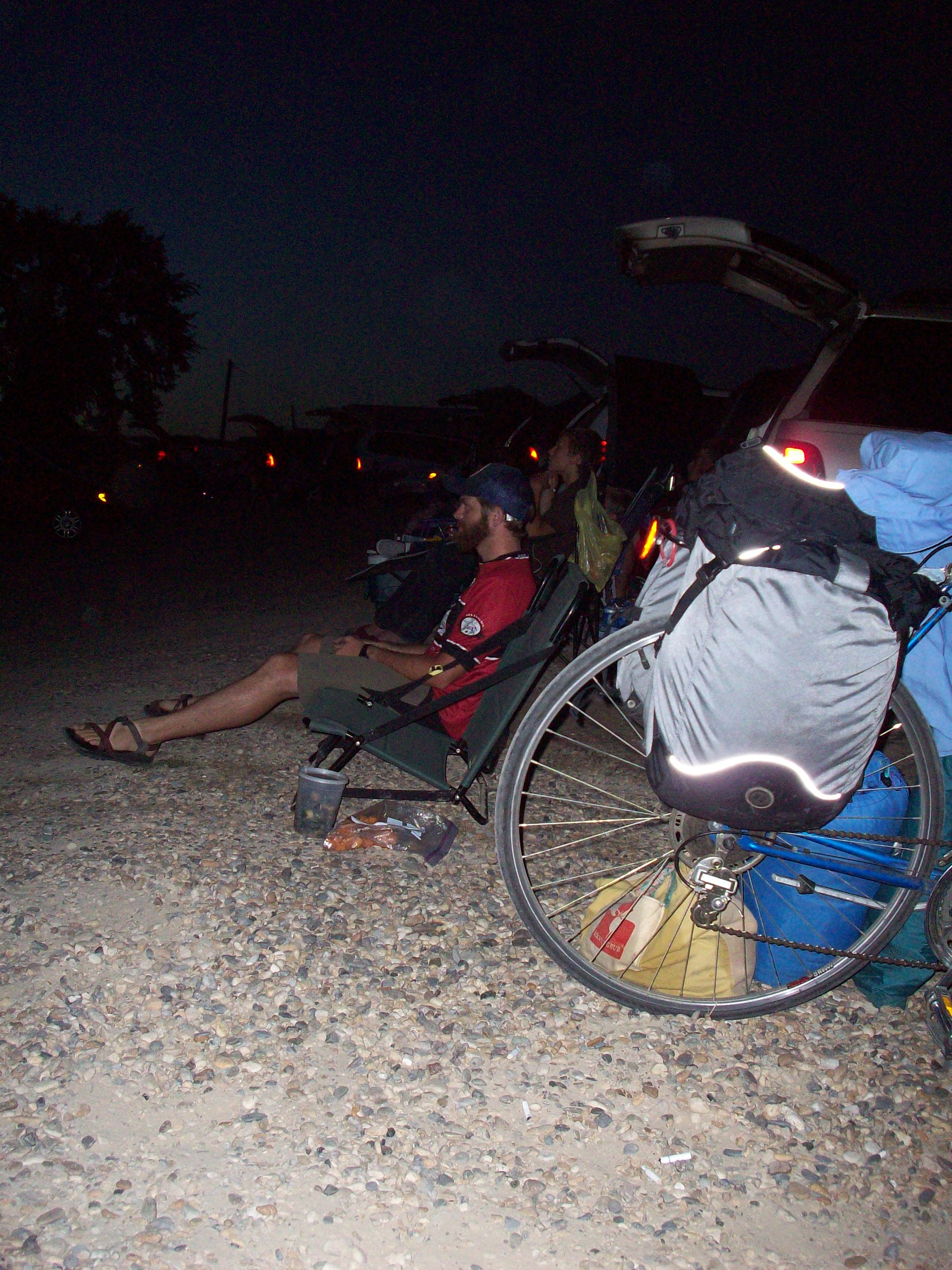 Bicycle Camping At The Parma Motor Vu Earthworm Envy