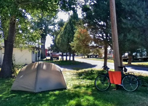 Surly Long Haul Truck and the Big Agnes Emerald Mountain SL3