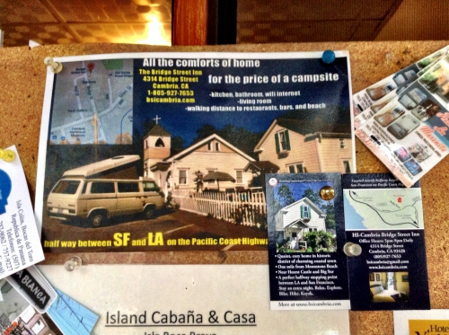 Bridge Street Inn Cambria California