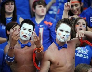 boise state university football fans